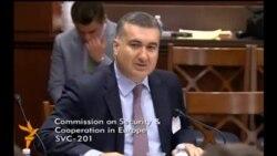 Helsinki komissiyasındakı çıxışlar (Elin Süleymanov-Eldar Namazov)