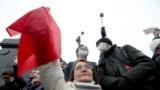Акція КПРФ у Москві через незгоду із результатами виборів до Держдуми. Росія, 25 вересня 2021 року
