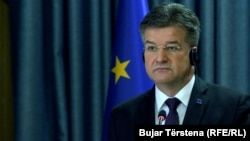Miroslav Lajcak, the EU's envoy for talks between Serbia and Kosovo