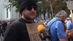 """Protestul """"Stop mafia imobiliară"""""""