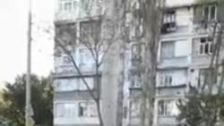 Вырубка деревьев в Мирзо-Улугбекском районе Ташкента