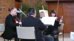 """Trio pentru corzi """"Aubade"""" de George Enescu"""