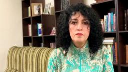 نرگس محمدی، فعال مدنی و نایب رئیس کانون مدافعان حقوق بشر در ایران
