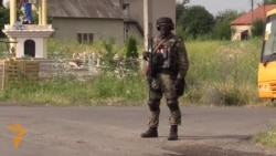 Ukrainian Forces Patrol Mukacheve In Wake Of Clash