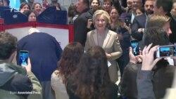 Клінтон проголосувала на виборчій дільниці в Нью-Йорку (відео)
