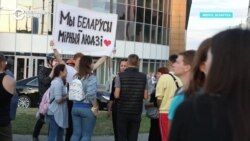 Смерть и баррикады. Протесты в Беларуси. День второй (видео)