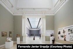 ეროვნული გალერეის ერთ-ერთი საგამოფენო დარბაზი, ფერნანდო ხავიერ ურხიკოს ფოტო