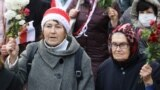 GRAB - Pensioner Power Boosts Protests In Belarus