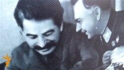 Світлини зі Сталіним демонстрували перехожим у Харкові