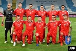 Reprezentativci Sebije na kvalifikacijama za Euro 2020 pred meč sa Litvanijom Beograd, juni 2019.
