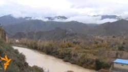 İranla Ermənistan Arazda su elektrik stansiyasının təməlini qoydu