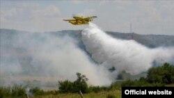 Авиони за гаснење пожар
