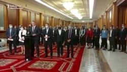 Anunțul demisiei miniștrilor USR PLUS
