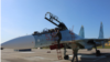 Расейскі самалёт на аэрадроме ў Баранавічах, 8 верасьня 2021 году