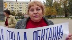 Участник пикета Валентина Толмачева