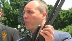 У Раду принесли зброю, з якої нібито стріляли в працівників агрофірми