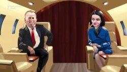 Igor Dodon și Maia Sandu și-au inventat în campanie fiecare lumea lui (VIDEO SATIRIC)