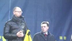 Виступ Арсенія Яценюка на сьомому Народному вічі на #Євромайдан'і
