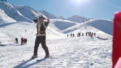 A Revived Ancient Sport In Kyrgyzstan: Ski Archery