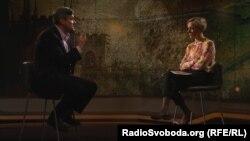 Віктор Назаров у студії Радіо Свобода