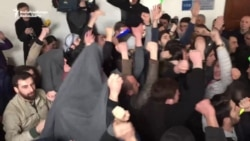Georgian Student Protesters Occupy University Offices