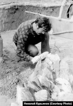 Юрий Мочанов в Диринг-Юрях. 1983 год