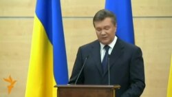 Янукович: Ман ба Киев бармегардам