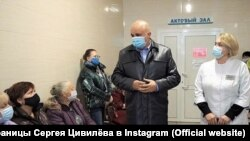 Губернатор Кемеровской области Андрей Цивилев в больнице