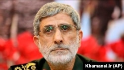 IRAN -- Brigadier General Ismail Qaani, the new commander of the Revolutionary Guard's Quds Force, undated