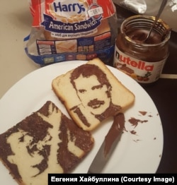 Фредди из шоколадной пасты