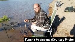 На рыбалке. Река Иша. Республика Алтай. 2020
