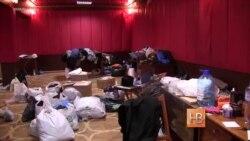 Волонтёрская помощь Киева бойцам АТО