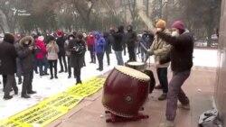 У Киргизстані протестували проти посилення влади президента (відео)