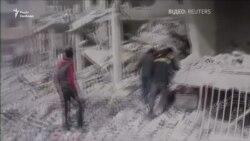 Зростає число жертв обстрілів і бомбардувань в Східній Гуті в околицях Дамаска (відео)