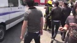 در آتش سوزی يک مجتمع مسکونی در باکو دستکم ۱۵ نفر جان خود را از دست دادند