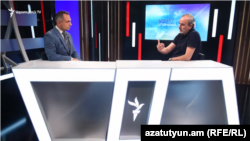 Жирайр Сефилян в студии Азатутюн ТВ, Ереван, 24 августа 2021 г.