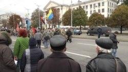 У Запоріжжі День захисника України відзначили ходою ветеранів АТО (відео)