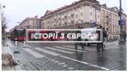 Литва: не пропустив пішохода – заплати 300 євро (відео)