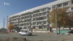 Единственная многоэтажка в поселке под Байконуром нуждается в ремонте