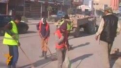 Місто Фаллуджу в Іраку прибирають після боїв