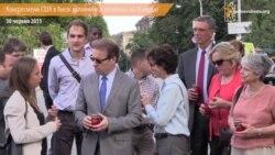 Конгресмени США у Києві вклонилися загиблим учасникам Революції гідності