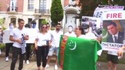 Waşingtonda Berdimuhamedowyň režimine garşy protest geçdi