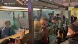 Навальный задержан в аэропорту в Москве
