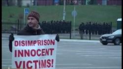 Kiyevdə ATƏT Nazirlər Şurasının görüşündə səssiz etiraz aksiyası