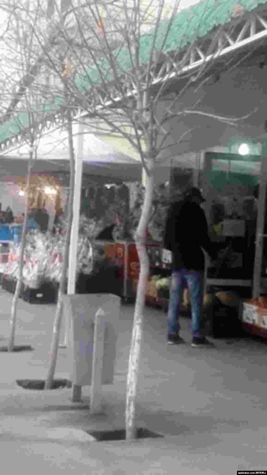 Новогодний базар. Ашхабад, декабрь, 2020