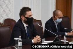 Ярослав Домански, глава ограниченной миссии БДИПЧ/ОБСЕ по наблюдению за выборами в Казахстане. Нур-Султан, 11 января 2021 года.