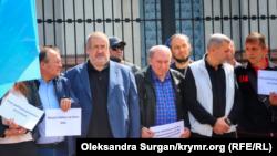 Русиянең Киевтагы илчелеге каршында Кырымда тоткарланганнарга теләктәшлек чарасы, 5 сентябрь 2021