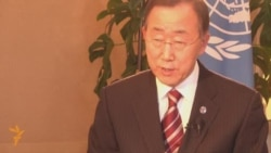 Ban Ki-moon On Azerbaijani-Armenian Relations