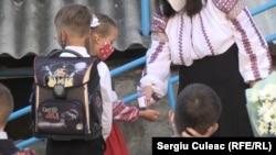 Prima zi de școală, Chișinău, 1 septembrie 2021.