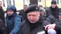 Турчинов прокоментував погрози Росії щодо проведення навчань Україною поруч із Кримом